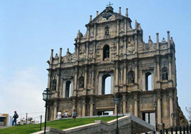 大三巴牌坊Ruins of St. Paul's Cathedral