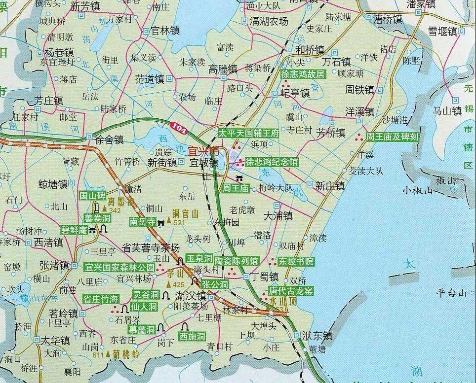 江浙沪地图版块
