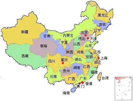 中国旅游地图-目的地指南,吾爱旅游网5iucn.co