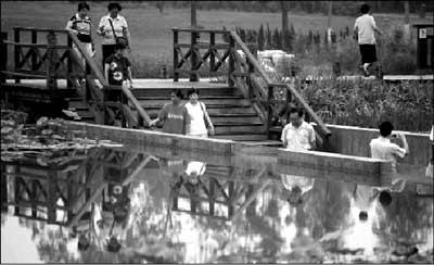 奥林匹克森林公园首次开放暂不接待零散游客