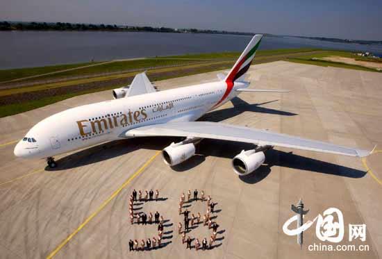 更少的飞机尾气排放量以及更低密度的飞机飞行空间