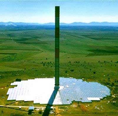 美国欲建太阳能塔发电高千米供20万户使用